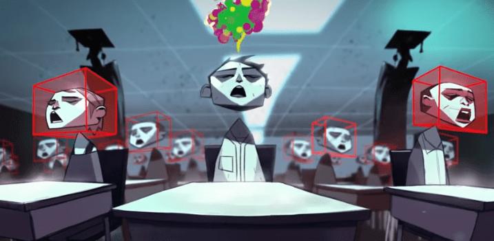 v teni mulpiplikaciya - Масонский мультфильм «В ТЕНИ»: крах финансовой системы