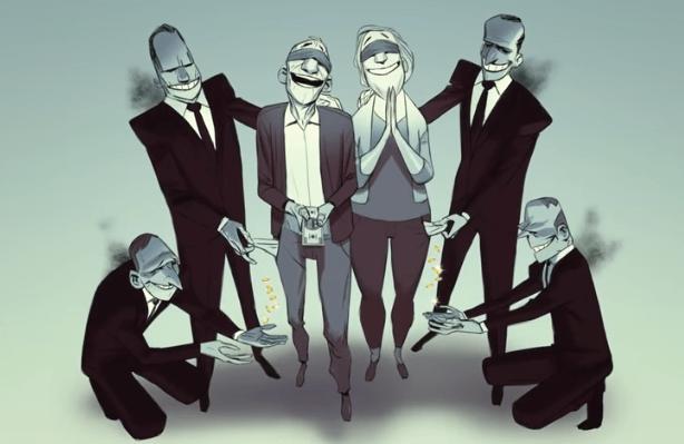 v teni multik - Масонский мультфильм «В ТЕНИ»: крах финансовой системы