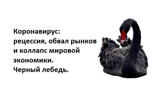 chernyj lebed 1 - Угроза: коллапс экономики и крах рынков. Безумие РЕПО зашкаливает.